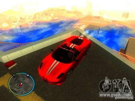 Ferrari F430 Scuderia M16 2008 for GTA San Andreas side view