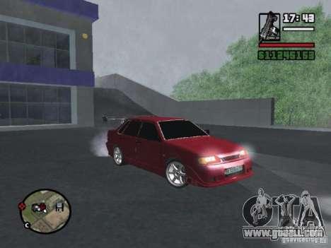 VAZ 2115 TUNING for GTA San Andreas