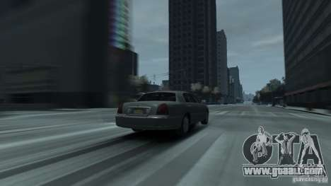 Lincoln Town Car 2003-11 v1.0 for GTA 4 back left view