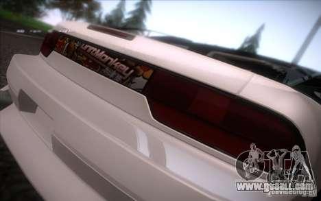 Nissan 240SX DriftMonkey for GTA San Andreas right view
