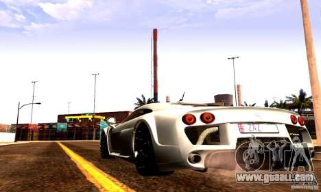 Noble M600 Final for GTA San Andreas right view