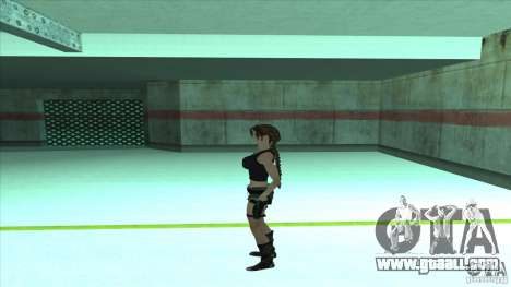 Lara Croft for GTA San Andreas third screenshot