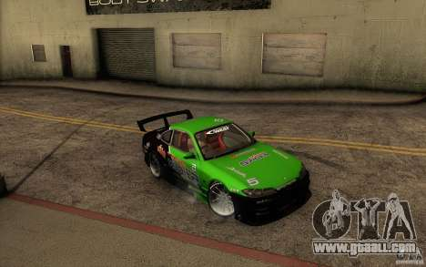 Nissan Silvia S15 Drift Style for GTA San Andreas upper view