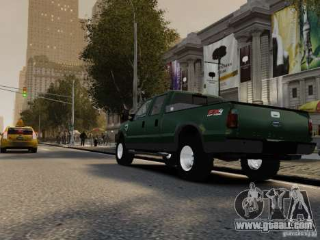 Ford F-250 FX4 2009 for GTA 4 right view