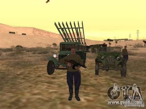 Soviet officer BOB for GTA San Andreas third screenshot