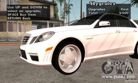 Wheels Pack by EMZone for GTA San Andreas eighth screenshot