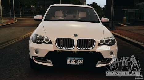 BMW X5 xDrive48i Security Plus for GTA 4 bottom view