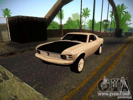 Ford Mustang Boss 429 1970 for GTA San Andreas