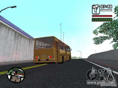 IKARUS 260.37 for GTA San Andreas back view
