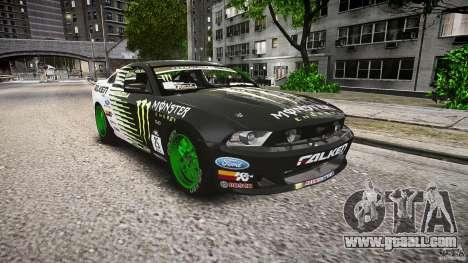 Ford Mustang GT Falken Tire v2.0 for GTA 4 back view