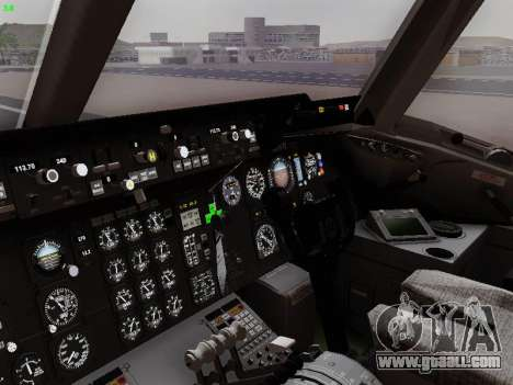 McDonell Douglas DC-10-30 PanAmerican Airways for GTA San Andreas upper view