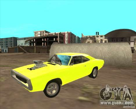 Dodge Charger RT 1970 The Fast and The Furious for GTA San Andreas left view