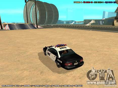 Chevrolet Caprice 1991 LVPD for GTA San Andreas left view