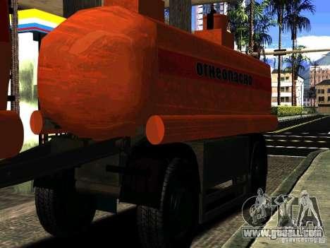MAZ 533702 trailer Truck for GTA San Andreas