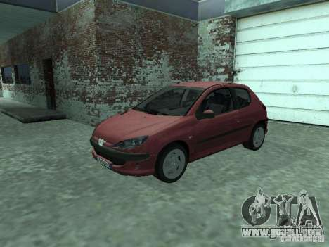 Peugeot 206 HDi 2003 for GTA San Andreas
