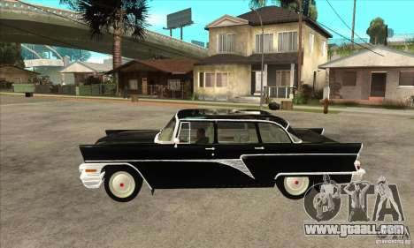 GAZ 13 Chaika v2.0 for GTA San Andreas left view