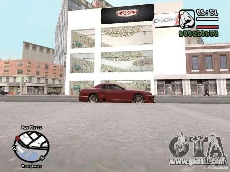 Dodge Salon for GTA San Andreas third screenshot