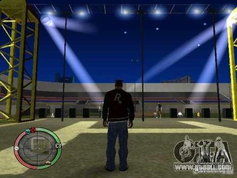Concert of the AK-47 v2 for GTA San Andreas fifth screenshot