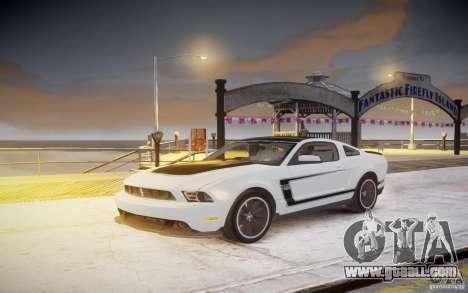 Ford Mustang 2012 Boss 302 v1.0 for GTA 4