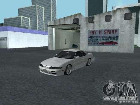 Nissan Skyline R32 Zenki for GTA San Andreas left view
