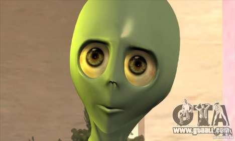 Alien for GTA San Andreas forth screenshot