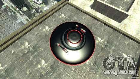UFO neon ufo red for GTA 4 right view