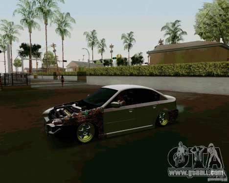Subaru Legacy JDM for GTA San Andreas left view