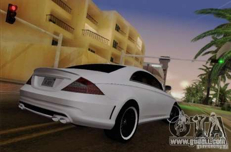 Mercedes-Benz CLS 63 AMG for GTA San Andreas back view