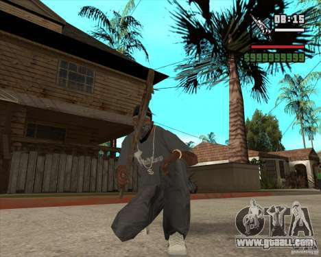 Pak weapons of Fallout New Vegas for GTA San Andreas second screenshot