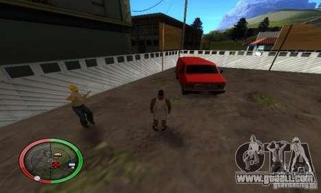 NEW STREET SF MOD for GTA San Andreas sixth screenshot