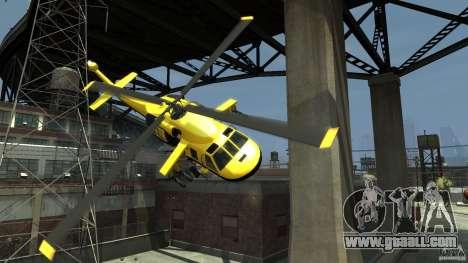 Yellow Annihilator for GTA 4 bottom view