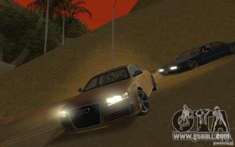 Audi RS6 TT Black Revel for GTA San Andreas