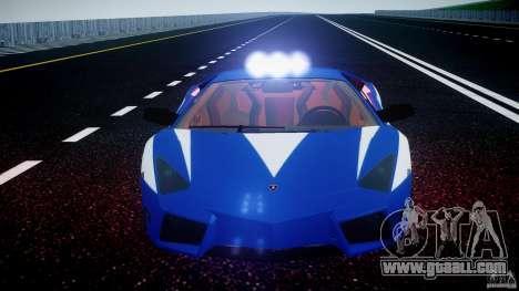Lamborghini Reventon Polizia Italiana for GTA 4 wheels