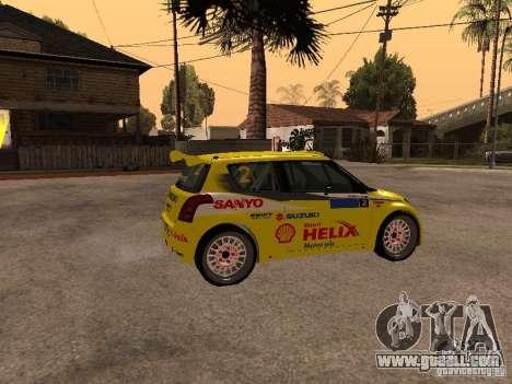 Suzuki Swift Rally for GTA San Andreas left view