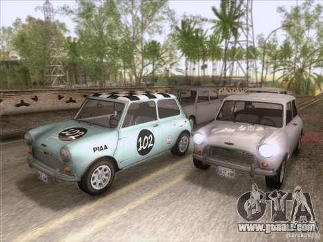 Austin Cooper S 1965 for GTA San Andreas