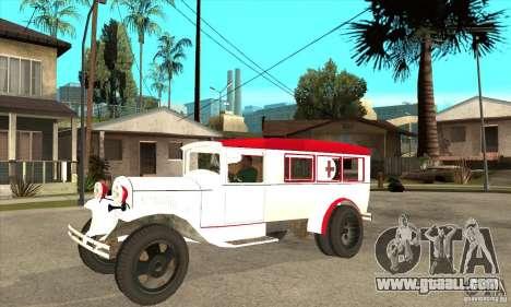 GAZ AA ambulance for GTA San Andreas