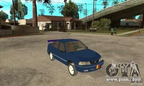 Daewoo Nexia for GTA San Andreas back view