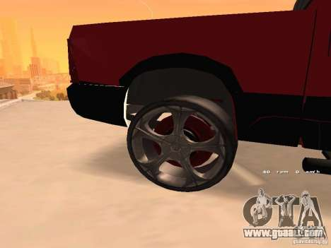Dodge Ram 2010 for GTA San Andreas right view