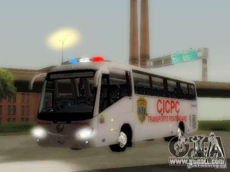 Irizar CICPC for GTA San Andreas