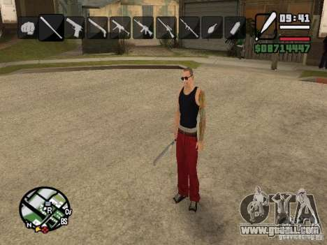 Icons when changing weapons for GTA San Andreas third screenshot