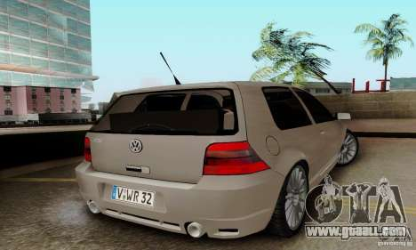 Volkswagen Golf GTI R32 for GTA San Andreas left view