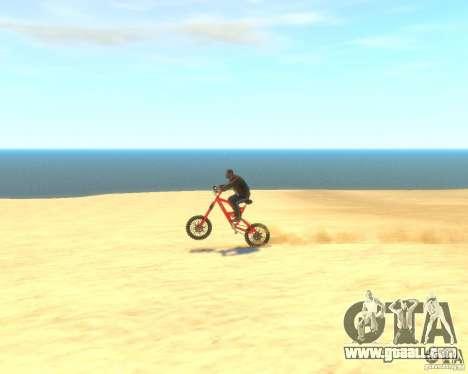 Mountain bike for GTA 4 back view