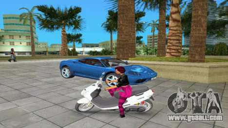 Suzuki Address 110 Custom Ver.1.3 for GTA Vice City left view