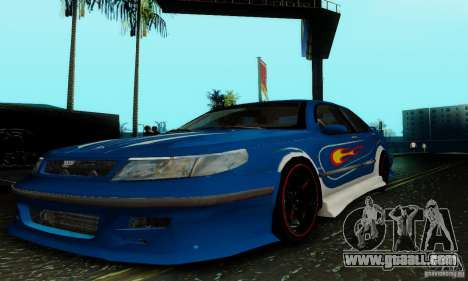 Saab 9-5 Sedan Tuneable for GTA San Andreas upper view