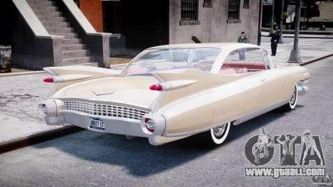 Cadillac Eldorado 1959 (Lowered) for GTA 4 side view
