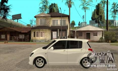 Suzuki Swift 4x4 CebeL Modifiye for GTA San Andreas left view