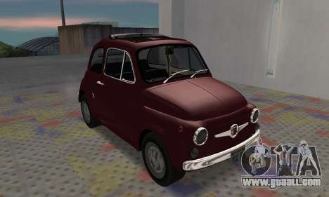 Fiat Abarth 595 SS 1968 for GTA San Andreas left view