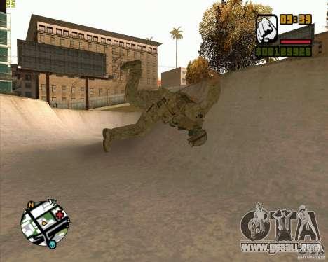 Parkour discipline beta 2 (full update by ACiD) for GTA San Andreas third screenshot
