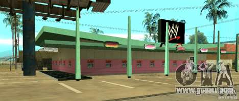 New WWE shop for GTA San Andreas second screenshot