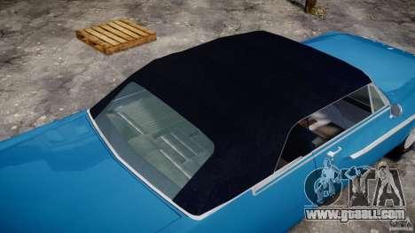 Dodge Dart 440 1962 for GTA 4 bottom view